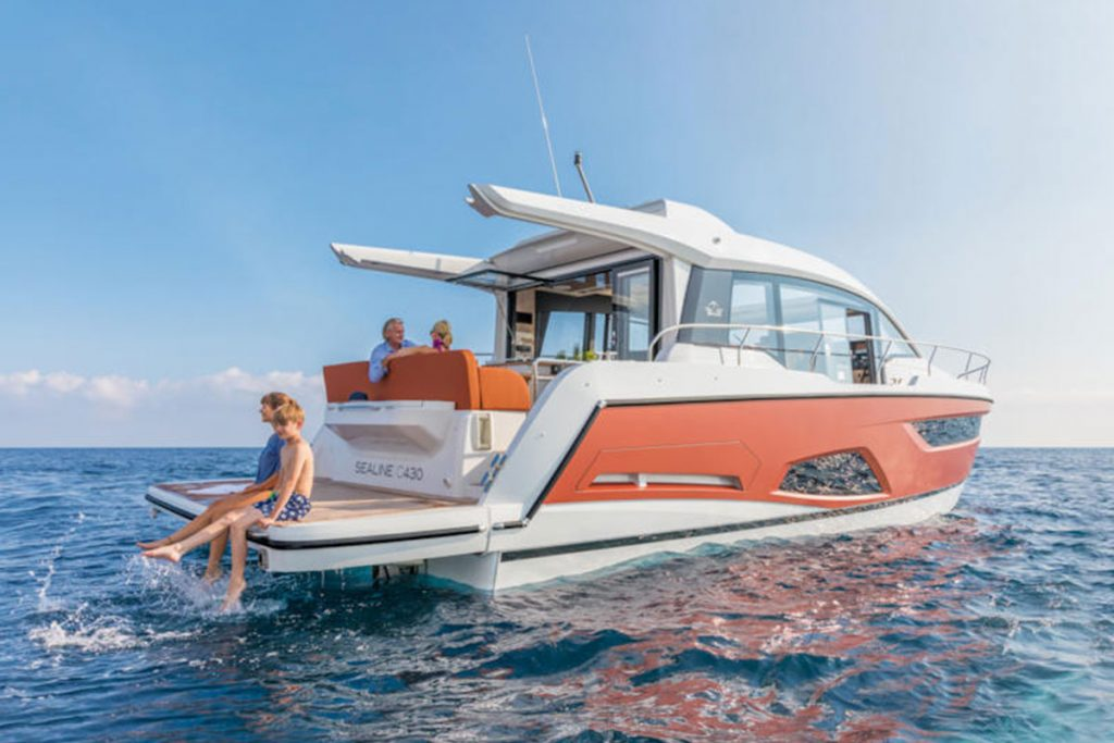 Sealine C430 for sale brokerage FYS Baleares