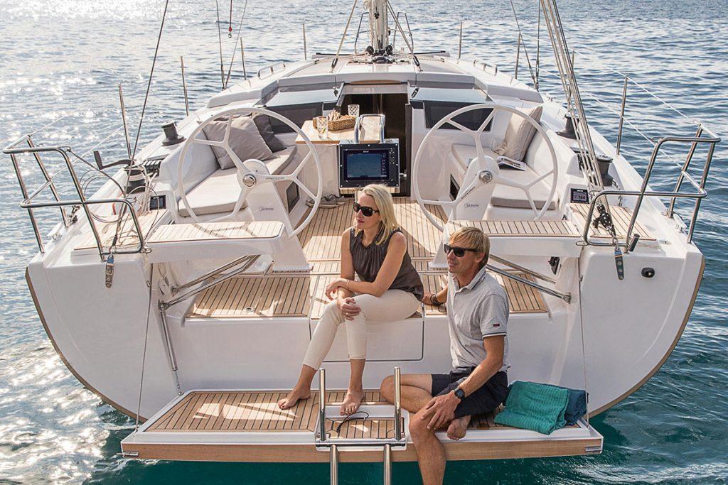 Hanse 418 for sale brokerage FYS Baleares