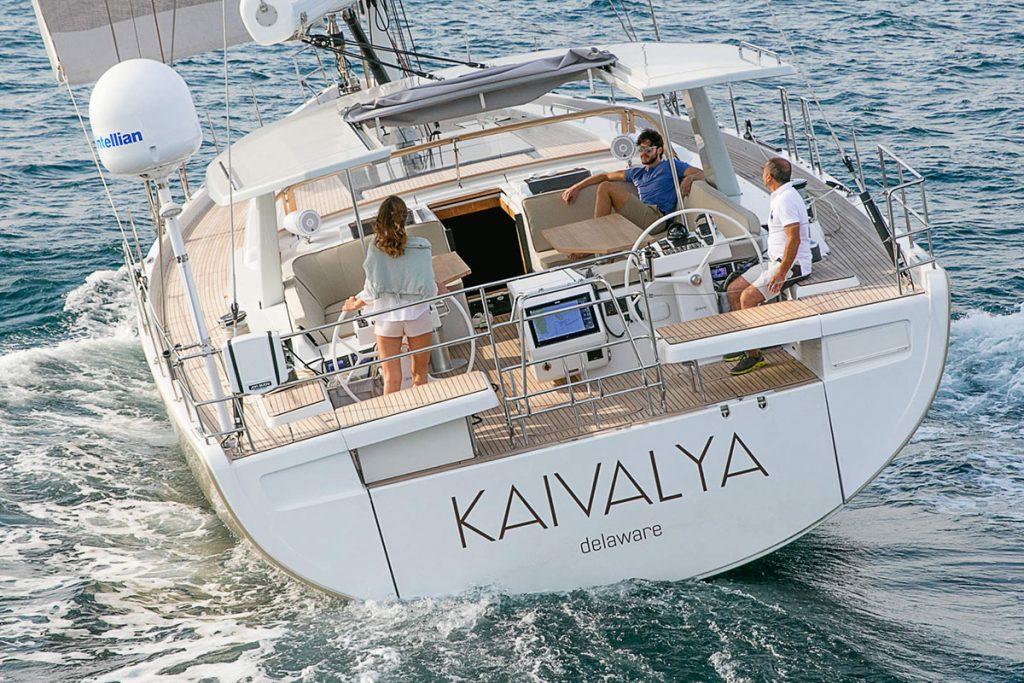 Hanse 675 outside sailing FYS