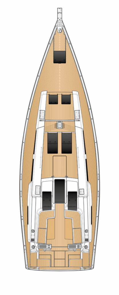 Hanse 508 Deck Layout Yacht
