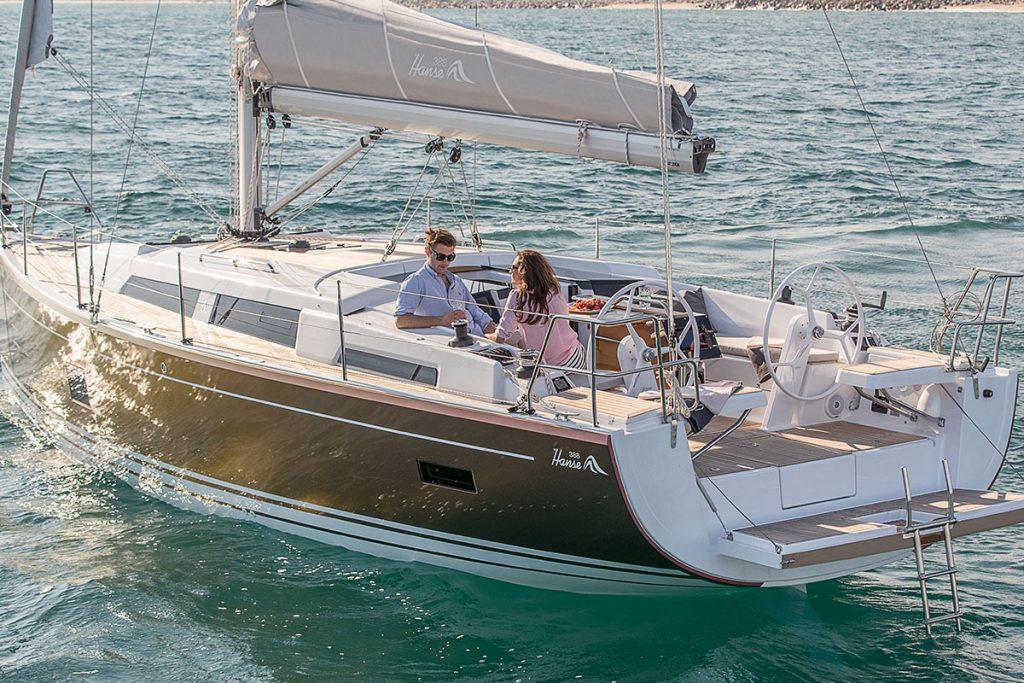 Hanse 388 for sale brokerage FYS Baleares