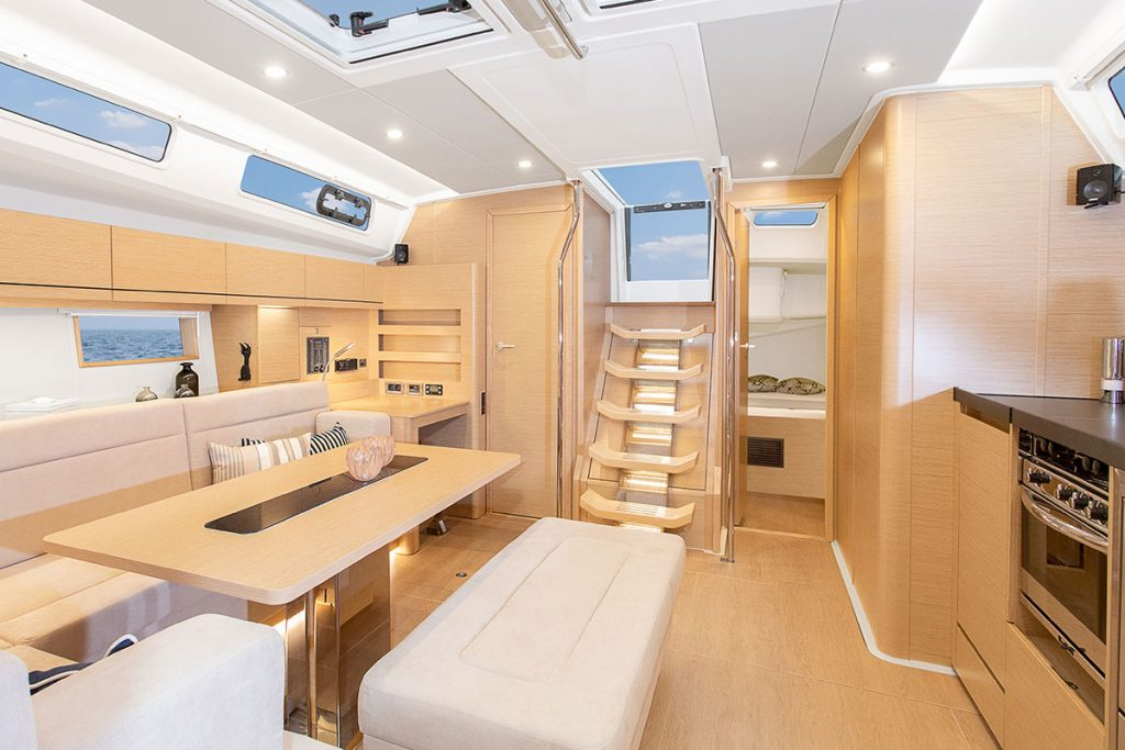 New Hanse 508 for sale brokerage FYS Baleares