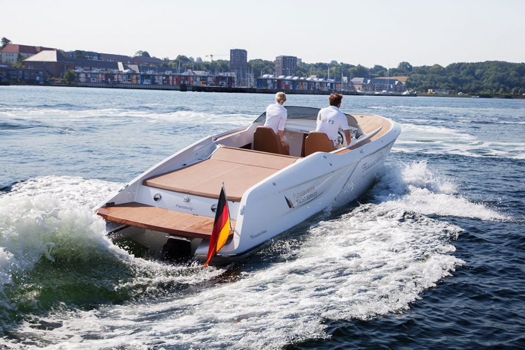 Frauscher 858 Fantom for sale motor yacht FYS Baleares